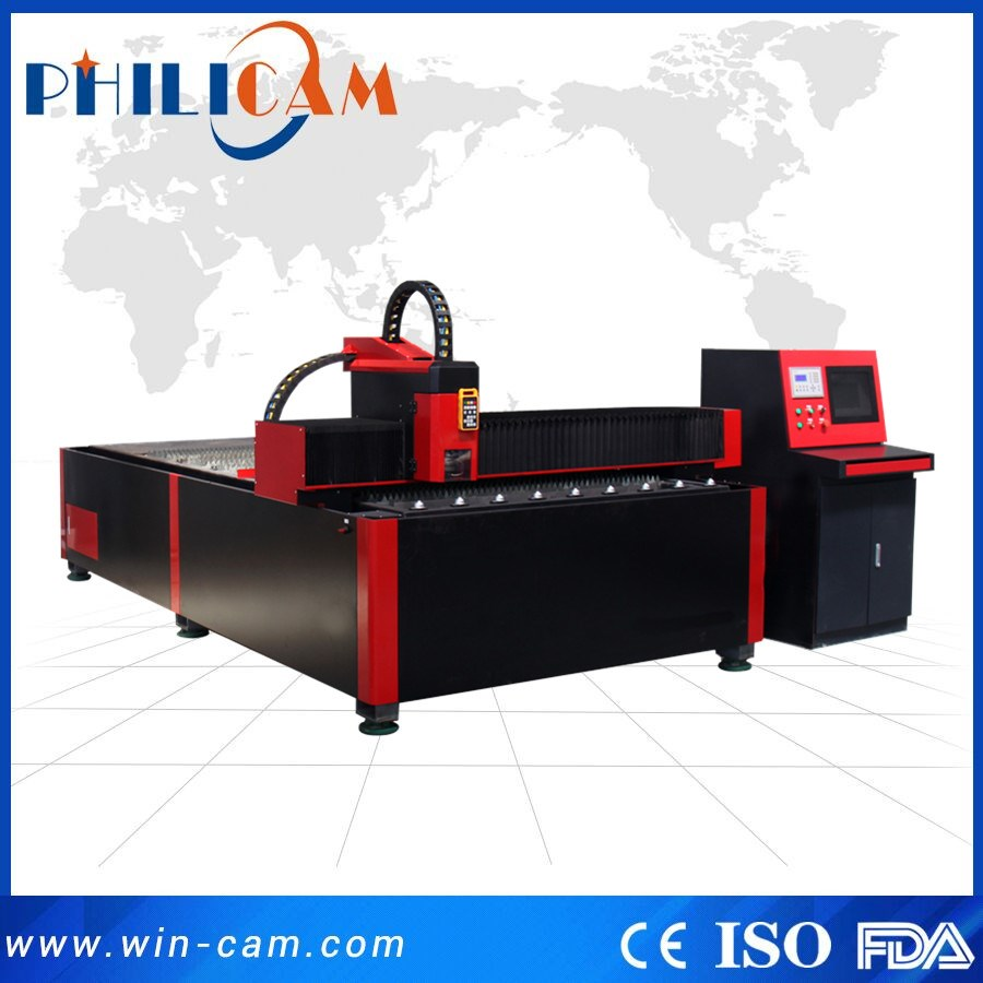 TOP SALE steel plate 300W/ 500W/750W/1000W/2000W FLDJ1325 fiber laser cutting machine