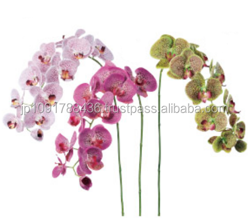 High Quality Orchid Artificial Flower for home decoration/gift/wedding decoration