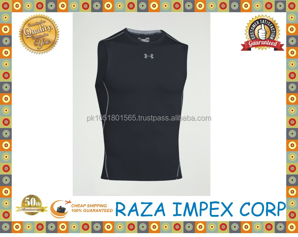 Custom printed gym men fitness 100 cotton or 100 polyester tank tops in bulk with high quality made in pakistan