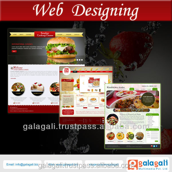 Bug Free Website Design and HTML Website Development Service for Food and Restaurant with SEO