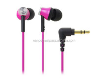 Wired in ear earphone brand name headphones , winding holder included
