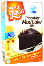 Gluten Free Chocolate Mud Cake Mix