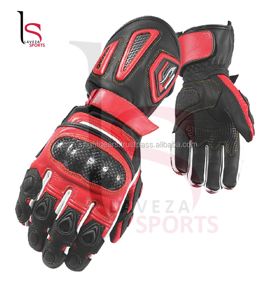Leather gloves bikes