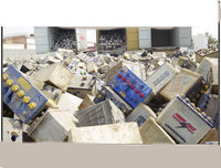 DRAINED LEAD-ACID BATTERY SCRAP (RAINS per ISRI Specifications)