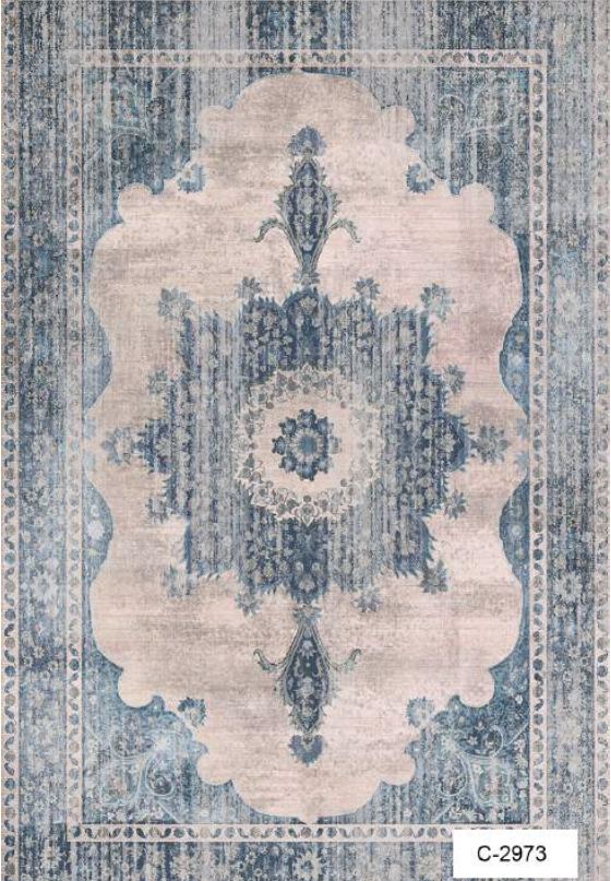 High Quality Custom Designed Digital Printed Turkish Rug