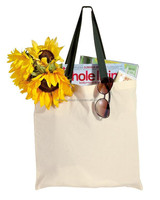 ecolocustom logo print organic cotton bag/Promotional Recyclable Carry Shopping Tote Calico canvas bag