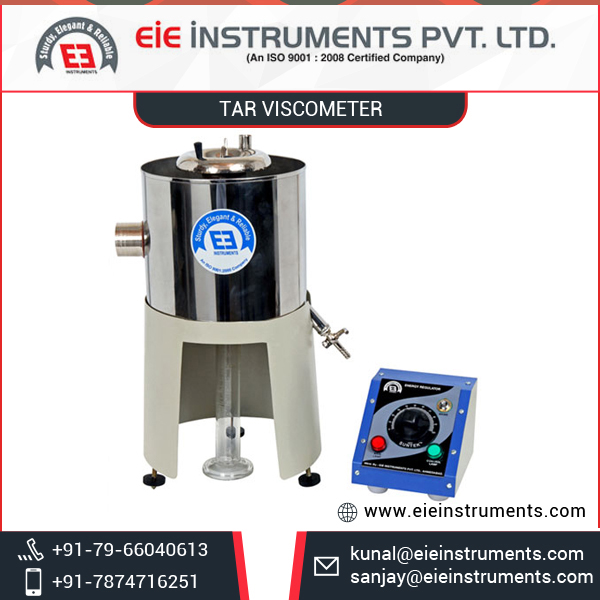 High Temperature Viscometer for Bitumen Tar