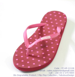 FFHP11128 - Polka Dot Red by FlipFlop Collection