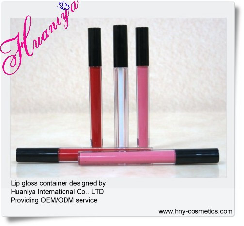 empty cosmetic container lip gloss