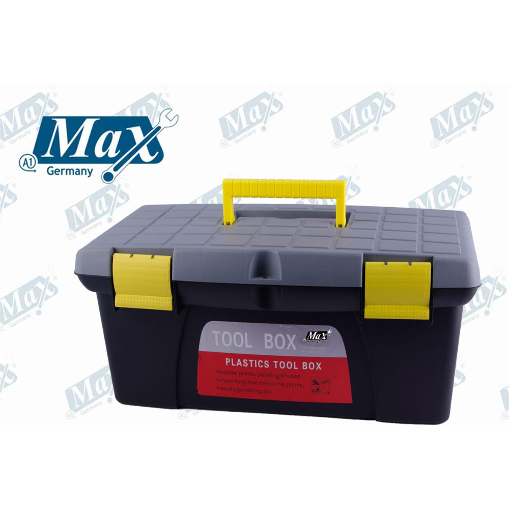 Portable Plastic Tool Box 17""