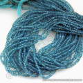 Apatite faceted gemstone beads strands rondelle loose semi precious wholesale