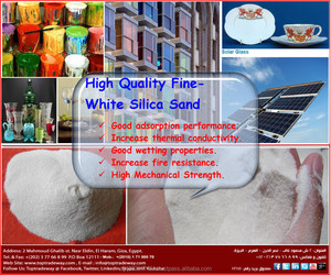 Silica Sand at competitive price for glass manufactories