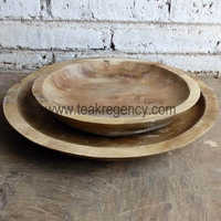 Wholesale teak plate set 2