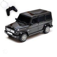 Rastar Licensed Mercedes Benz G55 with Remote Controlled Battery Operated RC Toy Racing Model Car Diecast 1:24 Scale Black