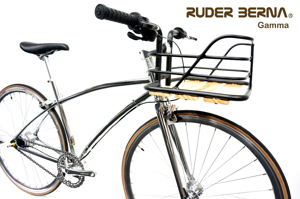 Ruder Berna Taiwan Made Fixed Gear 700C Rose Gold Fixed Gear Bike