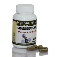 Herbal Shankhapushpi Capsules Herbs for Brain Powder enhancement