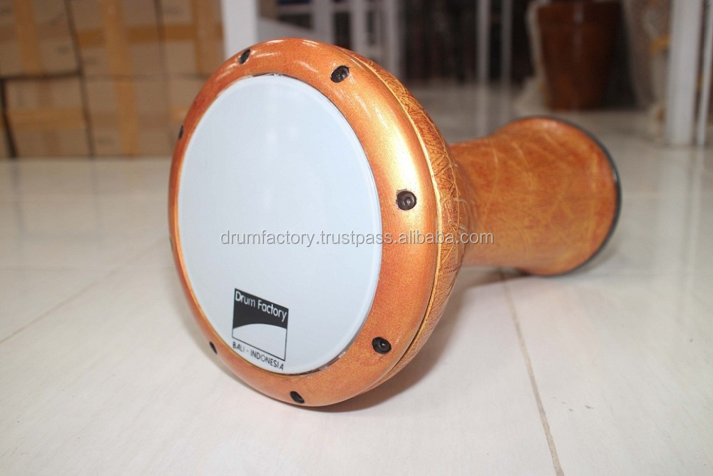 Doumbek hand drum fiberglass, traditional Darbuka percussion music instrument Middle East