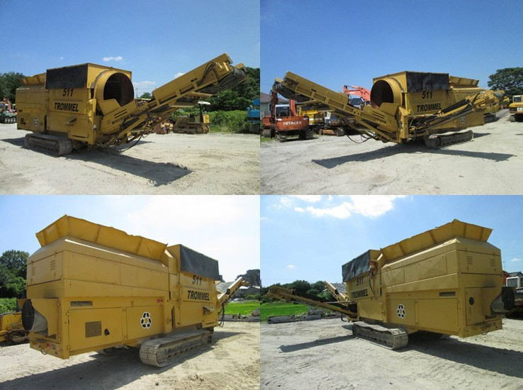 Used Powerscreen TROMMEL 511 For Sale from Japan!!! <SOLD OUT>