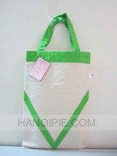 Printed large tote stationery bag
