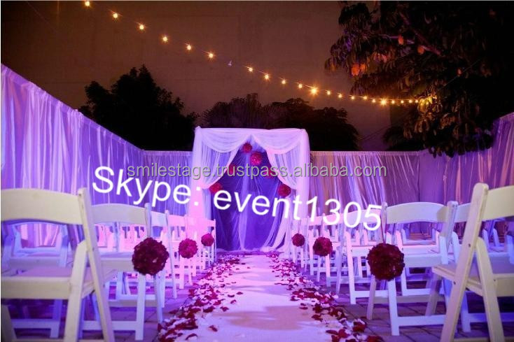 2015 Popular Adjustable Pipe And Drape For Wedding & Used For Hanging Curtain & Backdrop Supporting For Wedding