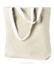 plain canvas tote bags/ organic cotton tote bags wholesale