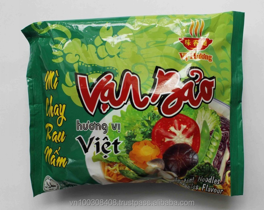 Vegetable Instant Noodles 65g
