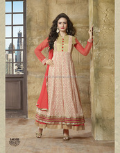 Wholesale Exclusive salwar kameez - Unstitched Anarkali Suit - anarkali salwar kameez - Punjabi Dress material