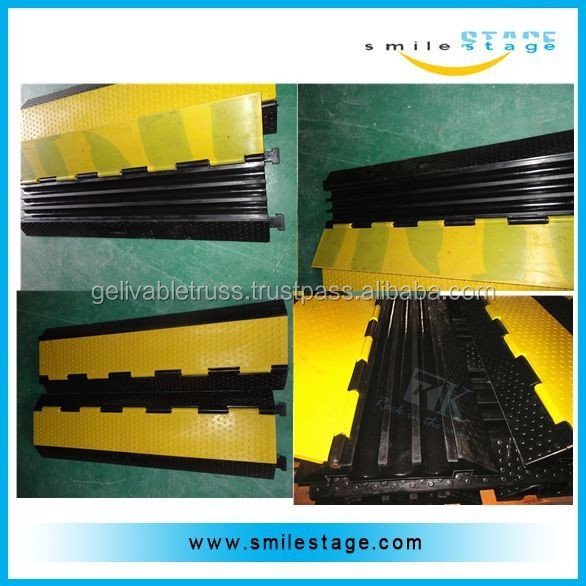 Wholesale price durable rubber speed bump, rubber speed breaker