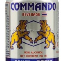 Commando Energy Drink Can