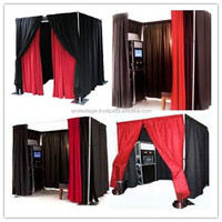 Fashion design pipe and drape kits for sticker photo booth with best price