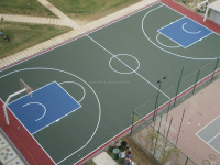 BASKETBALL, TENNIS, SQUASH, FOOTBALL, , VOLLEYBALL,BADMINTON COURTS, SPORTS SURFACE CONSTRUCTION COMPANY IN SAUDI ARABIA DAMMAM