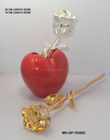 24 Karat Gold Plated Rose