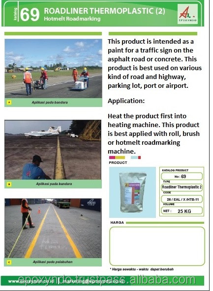 ROADLINER THERMOPLASTIC (2) - hotmelt road marking