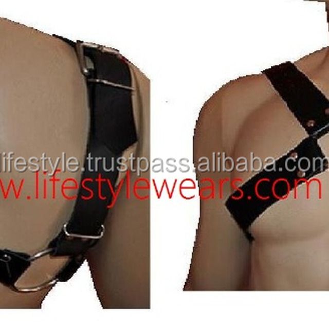 chest harness men leather harness sexy leather