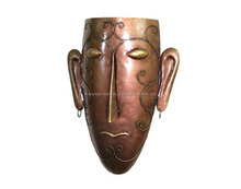 Exclusive Iron male Mask Wall Hanging Home Decor Hand Craft Indian Home decor Item