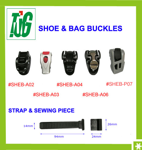 Bike, Bag, Shoe adjustable ratchet buckles