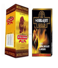 Dabur Shilajit Gold 10 Capsules for General weakness, rejuvenator, restorative, aphrodisiac