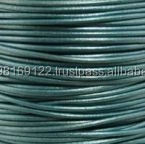 Plain Round Leather Cords for making Jewellwery and Handicrafts