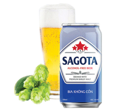 Wholesale non alcoholic beer in can 330 ml SAGOTA