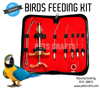 Birds feeding tubes and Dosing kit