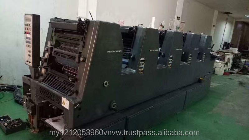 4 color offset printing machine heidelberg sm74 4color 5 color
