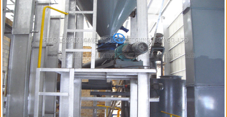 Glass Raw Material Automic Rotary Feeder For Powder Conveying