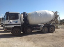 Mercedes concrete mixer