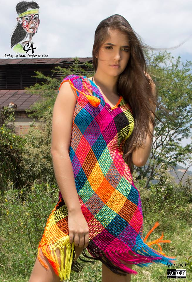 Wayuu beachwear cover up