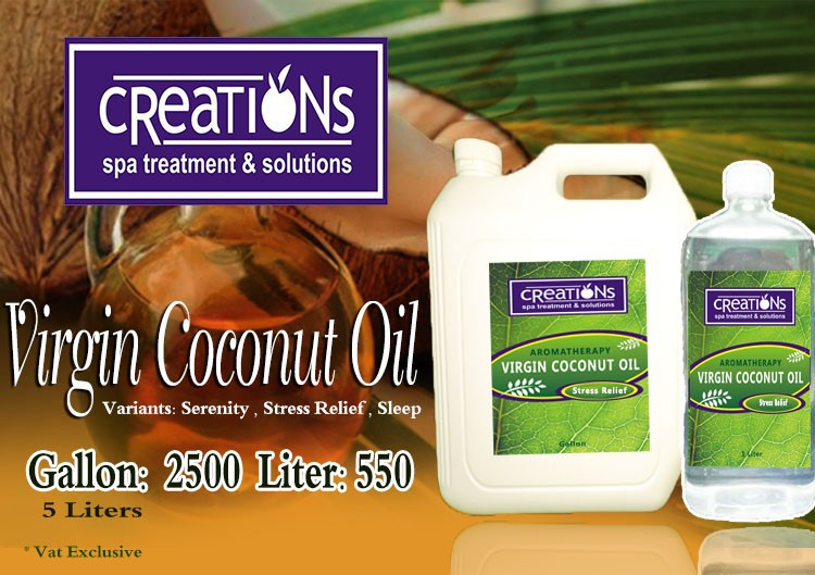 VCO Massage Oil, VCO, Virgin Coconut Oil