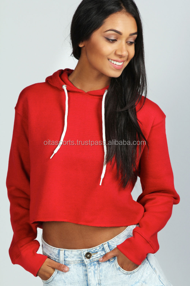 Sex crop hoodies & sweatshirts for women