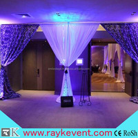 RK hot sale weddling pipe and drape kits for wall decoration