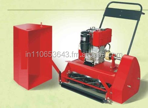 petrol engine lawn mover