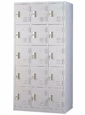 Lockers with built in Com lock