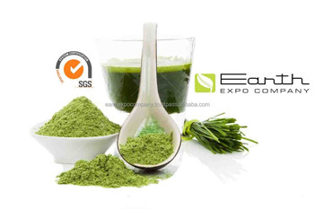 Wheat green grass powder for juice